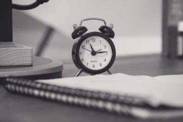 Old clock time management tools