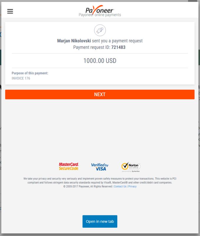 envoice-get-paid-payoneer